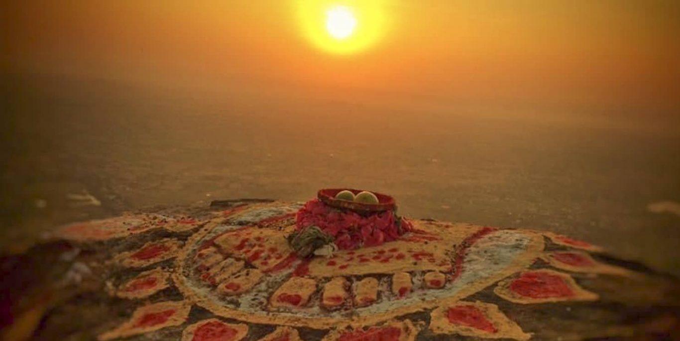 de heilige berg Arunachala (The Shiva Mountain)